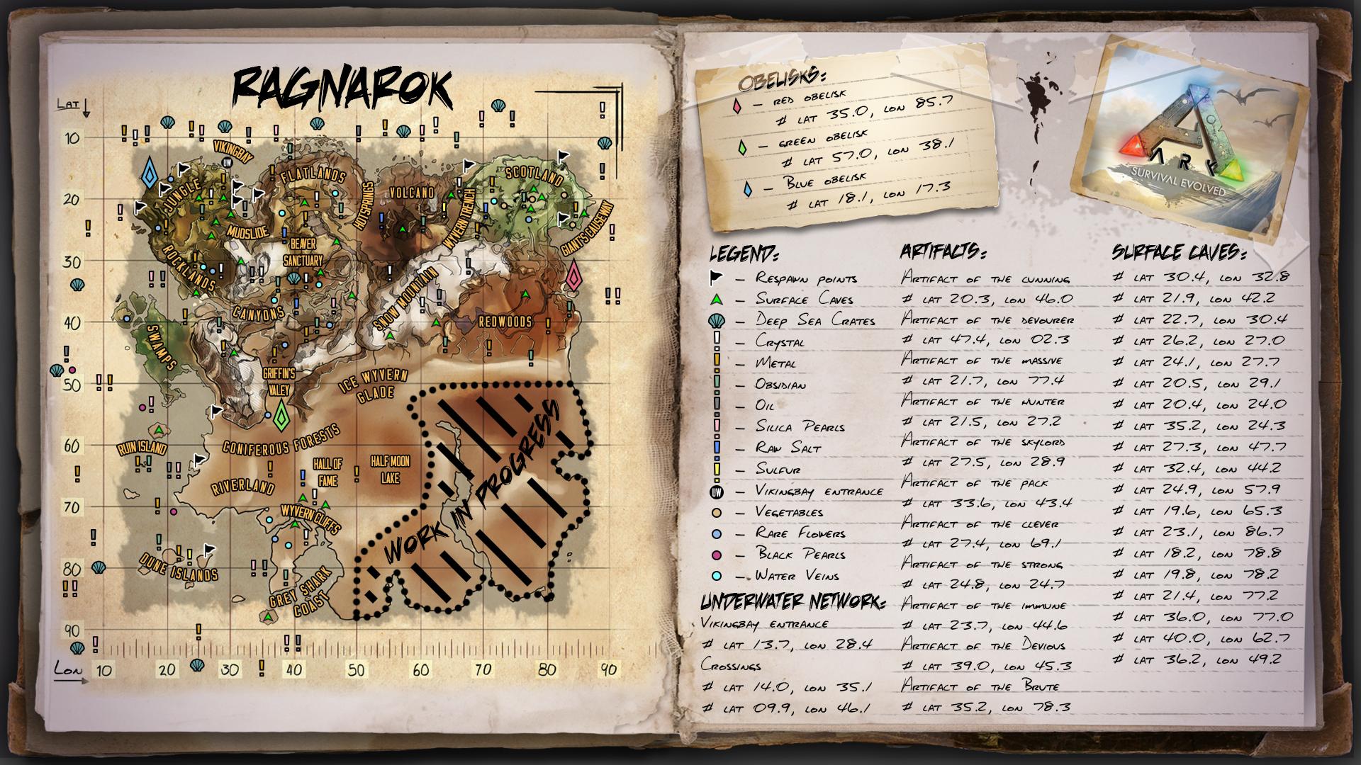 Ragnarok Map